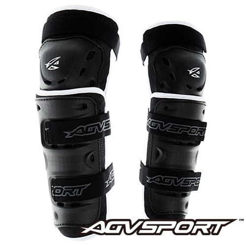 AGV SportKnee Guard무릎003 - black/white -