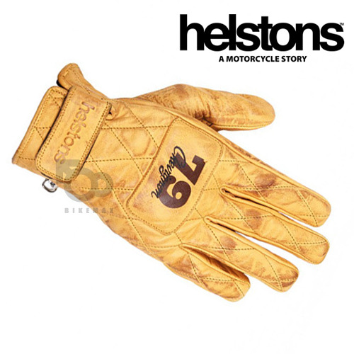 HELSTONSCHEVIGNON  CROSSLINELT GLOVES- gold -헬스톤장갑입점!!