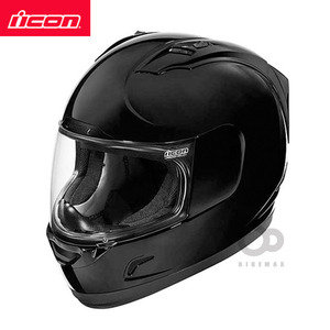 ICONALLIANCESOLID- black -아이콘헬멧입점!!!ICON HELMETS !!