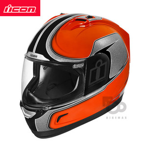ICONALLIANCEHI-VIZ- orange -아이콘헬멧입점!!!ICON HELMETS !!
