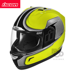 ICONALLIANCEHI-VIZ- yellow -아이콘헬멧입점!!!ICON HELMETS !!