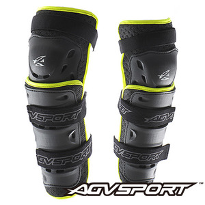 AGV SportKnee Guard무릎003 - black/green -