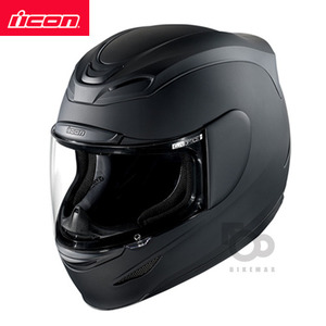 ICONAIRMADASOLID- matt black -아이콘헬멧입점!!!ICON HELMETS !!