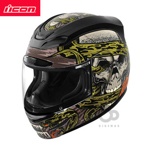 ICONAIRMADAVITRIOL- black -아이콘헬멧입점!!!ICON HELMETS !!