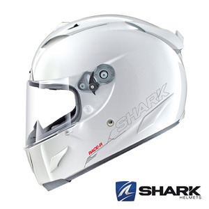 SHARKRACINGRACE-R PROSOLID- WHITE -샤크헬멧입점!!!