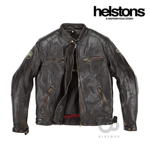 HELSTONSTRACK OLDIESLT JACKET- marron -헬스톤자켓입점!!