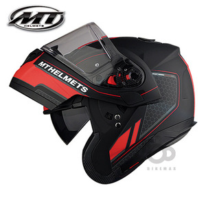 MT   ATOM SV  RACELINE  EVO   - matt black/red -  MT헬멧입점!!