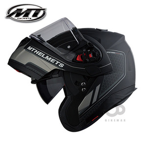 MT   ATOM SV  RACELINE  EVO   - matt black/gray -  MT헬멧입점!!