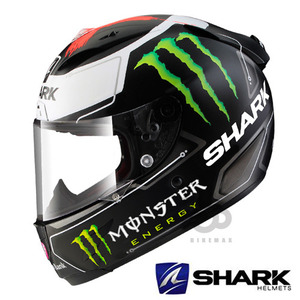 SHARK   RACING  RACE-R PRO  LORENZO MONSTER  REPLICA   안티포그핀락증정!!  샤크헬멧입점!!