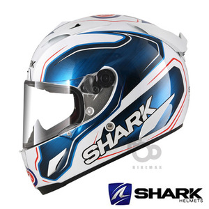 SHARK   RACING  RACE-R PRO  GUINTOLI  REPLICA - WBK -  안티포그핀락증정!!  샤크헬멧입점!!