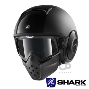 SHARK   METRO  RAW  DUAL BLACK- BLK -   샤크헬멧입점!!