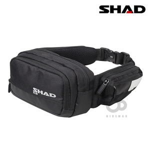 SHAD   SOFT BAG  WAIST BAG  허리가방  - black -   샤드입점!!