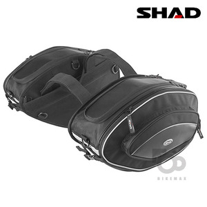 SHAD   SOFT BAG SPORT SIDE BAG  - black -   샤드입점!!