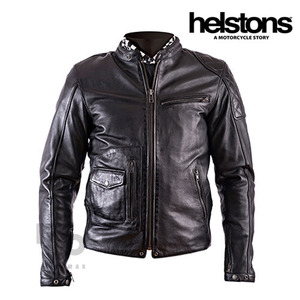 HELSTONSFUEL DIRT TRACKLT JACKET - black -헬스톤자켓입점!!